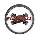 Tribal Football Wall Clock