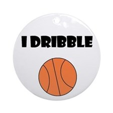 I DRIBBLE Ornament (Round)