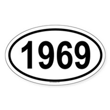 Cute 1969 Decal
