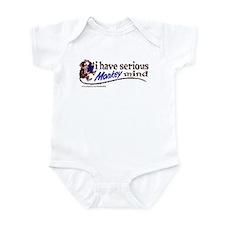 Serious Monkey Mind Infant Bodysuit