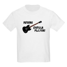 Future Guitar Player Kids Light T-Shirt