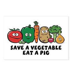 Save a Vegetable Postcards (Package of 8)