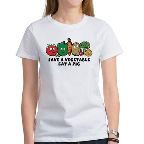 Save a Vegetable Women's T-Shirt