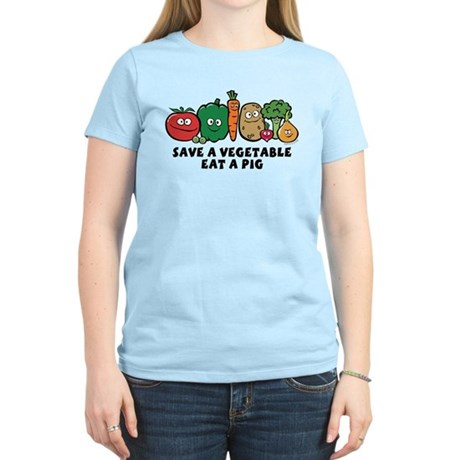Save a Vegetable Women's Light T-Shirt