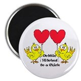 "Gettin Hitched to a chick 1 2.25"" Magnet (10 pack)"