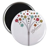 Bloom Zipper Tee Magnet