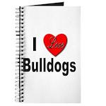 I Love Bulldogs Journal