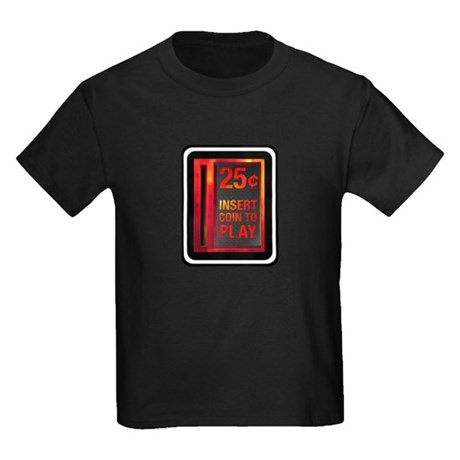 INSERT COIN TO PLAY Kids Dark T-Shirt
