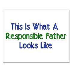Responsible Father Posters