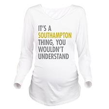 Southampton Long Sleeve Maternity T-Shirt