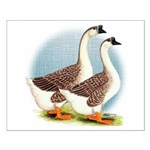 Goose and Gander Small Poster
