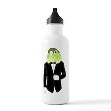 Green Cheek Conure Tux Water Bottle