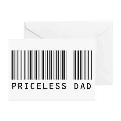 Priceless Dad Greeting Cards (Pk of 10)