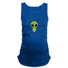 Its Not Easy Being Green Maternity Tank Top