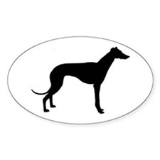Cute Racing dog Decal