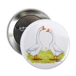 White Chinese Geese Button