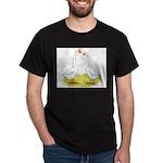 White Chinese Geese Dark T-Shirt
