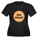 Team Adderall - ADD Women's Plus Size V-Neck Dark