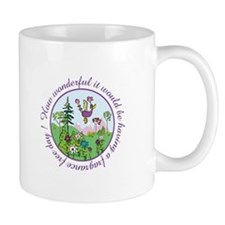 Au De Pew-Bluebird- Mug Mugs