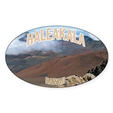 Haleakala National Park Oval Decal