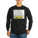 Chinese Goose and Gander Long Sleeve Dark T-Shirt