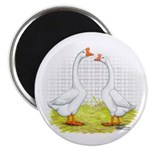 Chinese Goose and Gander Magnet