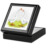 Chinese Goose and Gander Keepsake Box
