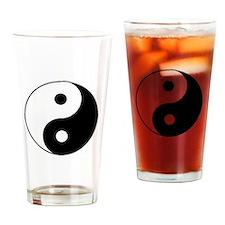 Funny Taiji Drinking Glass