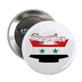Flag ribbon Syria Button