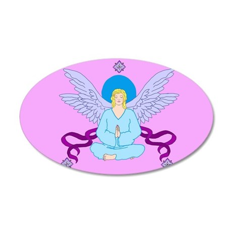Royal Yoga Angel Wall Decal