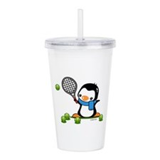Tennis Penguin (1) Acrylic Double-wall Tumbler