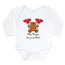 Unique Dad valentine Long Sleeve Infant Bodysuit