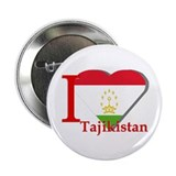 "I love Tajikistan 2.25"" Button (10 pack)"
