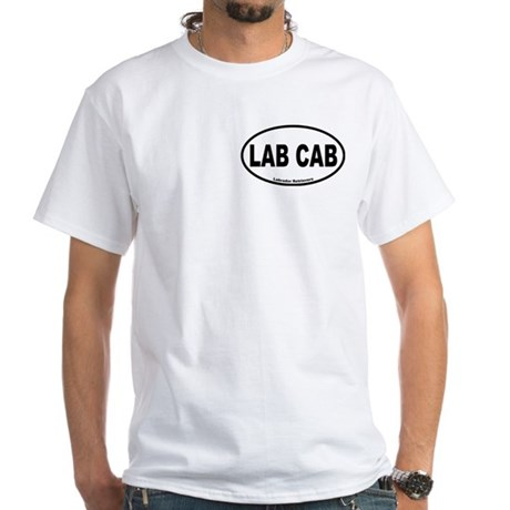 Lab Cab White T-Shirt