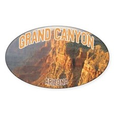 Grand Canyon National Park Oval Decal