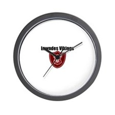 Unique Softball team Wall Clock