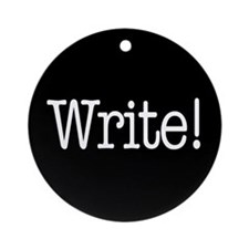 Write! Ornament (Round)