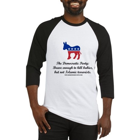 Dems: Brave Enough Baseball Jersey