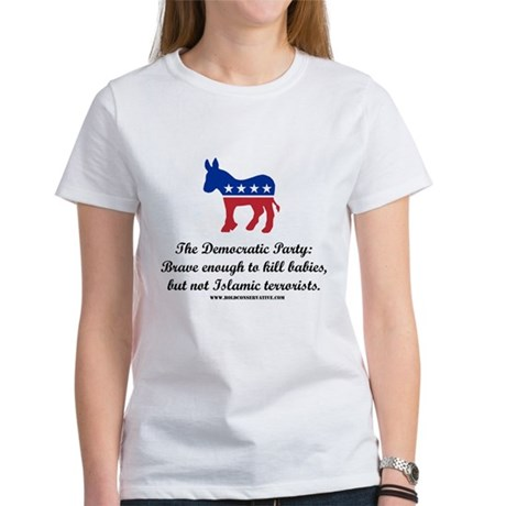 Dems: Brave Enough Women's T-Shirt
