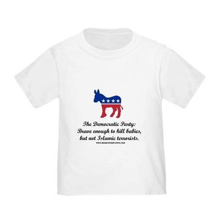 Dems: Brave Enough Toddler T-Shirt