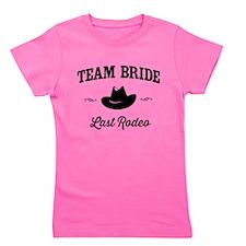 Team Bride Last Rodeo Girl's Tee