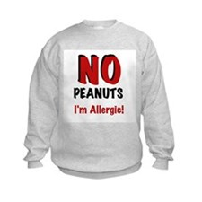 Peanut Allergy Sweatshirt