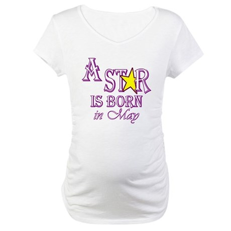 Due in May Maternity T-Shirt