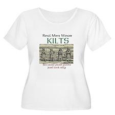 Real Men Wear Kilts Plus Size T-Shirt