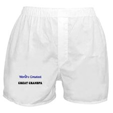 World's Greatest GREAT GRANDPA Boxer Shorts