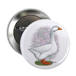 Embden Gander Button