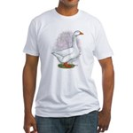 Embden Gander Fitted T-Shirt