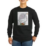 Embden Gander Long Sleeve Dark T-Shirt