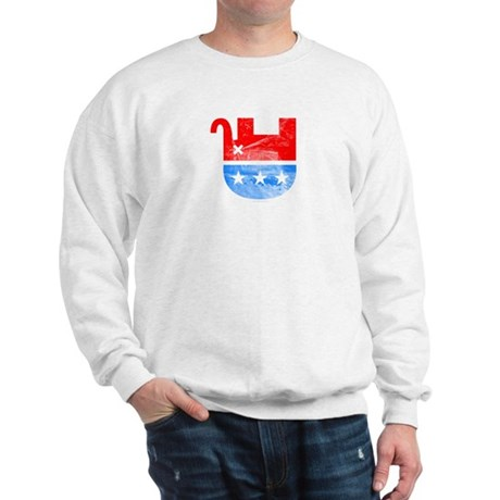 Dead Republican Elephant Sweatshirt