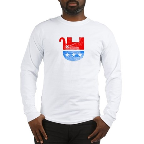 Dead Republican Elephant Long Sleeve T-Shirt